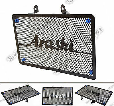 Black Arashi Radiator Grille Guard Protective Cover For HONDA NC700 NC750 S/X/N