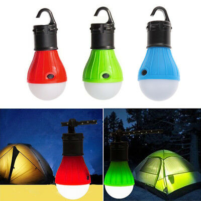 Emergency Hanging Lamp Tent Light Bulb Lantern LED Hook Outdoor Camping Hiking