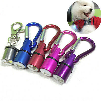 Waterproof LED Flashing Collar Safety Light Pendant Tag For Pet Dog Cat Puppy SN