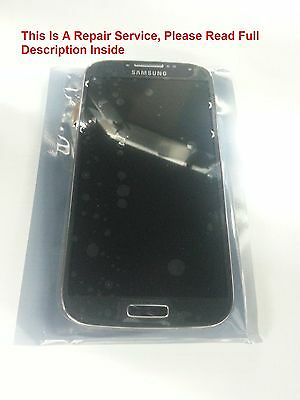 Samsung Galaxy S4 LCD Screen Digitizer Glass Repair Service OEM Part Free Unlock