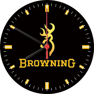 Browning Firearms Advertising Wall Clock