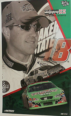2003 Action Collectables Bobby Labonte Signed Poster