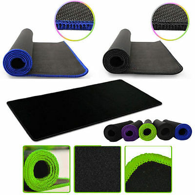 XL PC Laptop Computer Rubber Gaming Mouse Tampone Mat Large Size 600*300 *2mm