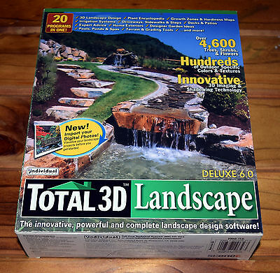 Total 3D Landscape Deluxe 6.0 PC AS NEW