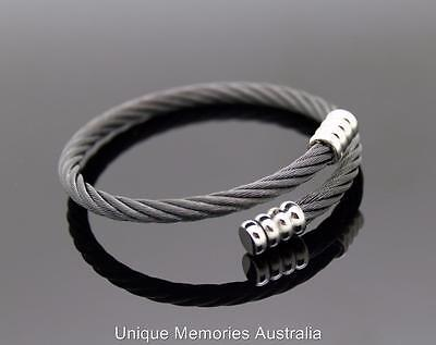 Fashion Five Ply Flexible Wire Cremation Memorial Keepsake Funeral Urn Bracelet