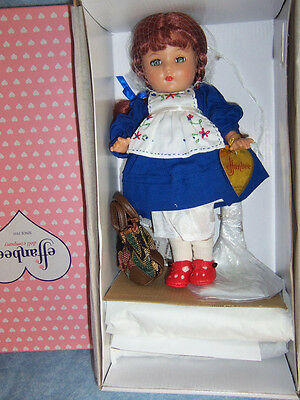"Effanbee Reproduction- 11"" Patricia Kins Club Doll Set #5003"