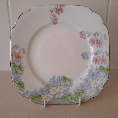 Vintage China Replacement Side Plate by Royal Standard Wildflowers Pattern