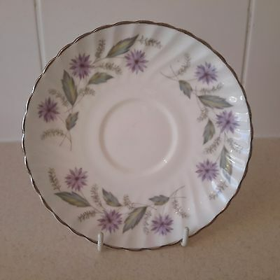 Vintage China Replacement Saucer by Royal Adderley Charmaine Pattern