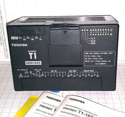 Toshiba Plc Prosec T1 Mdr16Ss Type Tdr116S6S New