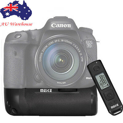 Meike MK-7DR II 2.4g Wireless Control Battery Grip f Canon 7D Mark II as BG-E16