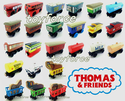 Thomas & Friends Railway Tender Magnetic Wooden Toy Train Loose New In Stock