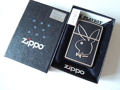 Authentic Zippo Lighter - Crystal Playboy 28816  - No Inside Guts Insert