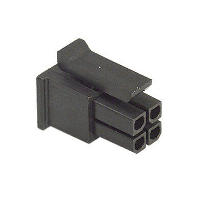 Connector Housing Micro Fit Male 2X2 Way Molex 43025-0400 Price For 2 Pcs