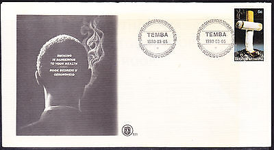 Bophuthatswana 1980 Stop Smoking First Day Cover - Unaddressed 1.11