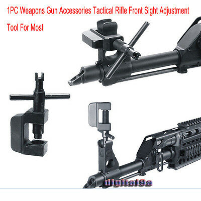 1PC Hunt Weapons Gun Accessories Rifle Front Sight Adjustment Tool F Most 47SKS
