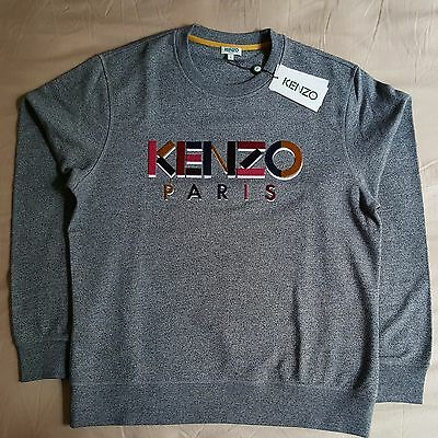 Kenzo Jumper Sweater Men's Authentic Brand New Size L