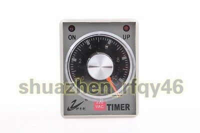 AH3-3 AC 220V 8 Pin Power ON Delay Timer Time Relay 0-10 Second 10s