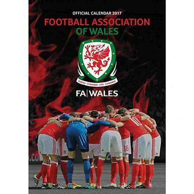 Wales F.A. Calendar 2017 New Licensed Product Free P&P