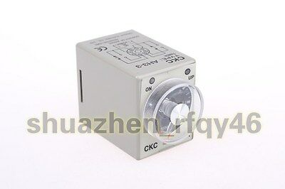 AH3-3 Power on Delay Timer Time Relay 8 Pin 24V DC 3M 3min