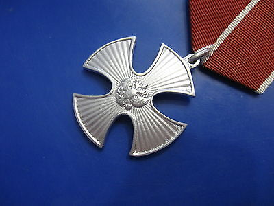 Order Cross of Courage award 041  Russia 1994 - Russian Federation medal war