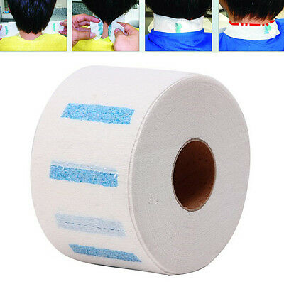 Neck Ruffle Paper Pro Hair Cutting Disposable Collar Accessory Necks Covering Bf