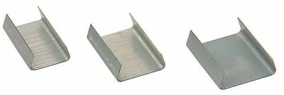 2000 x Snap On Seals For 19mm Steel Pallet Strapping (19mm x 25mm x 0.5mm)