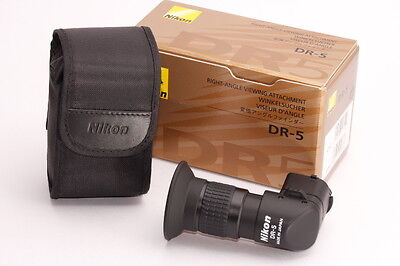 [Top Mint!!] Nikon DR-5 Right Angle Viewing Attachment finder Genuine from JAPAN