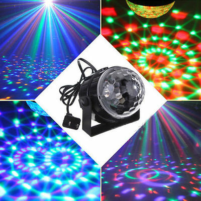 LED Disco LichtKugel RGB Bühne Lampe Show Laser Stage Party Beleuchtung