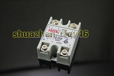 New SSR-10 DD DC 5-60V/3-32V DC Solid State Relay for PID Temperature Controller