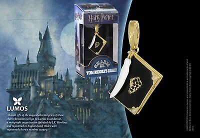 Harry Potter : TOM RIDDLE'S DIARY LUMOS CHARM From The Noble Collection NOB1024