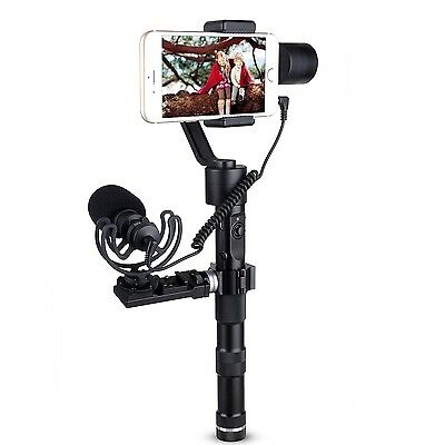 COMICA Cardioid Directional Condenser Video Microphone for Zhiyun Z1-Smooth-C