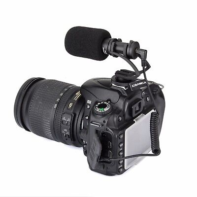 COMICA CVM-VM10 Cardioid Directional Condenser Shotgun Video Microphone for DSLR