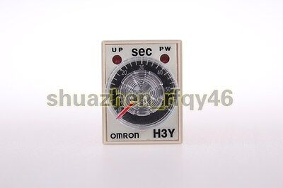 1 Set DC 12V H3Y-2 Delay Timer Time Relay 0-60 Second 12VDC with PYF08A Base