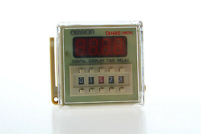 NEW DH48S-2Z LCD Display Time Timer Delay Relay 8Pins DPDT 0.01S-99H99M AC/DC12V