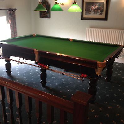 Snooker table 3 4 size picclick uk for 1 4 size snooker table
