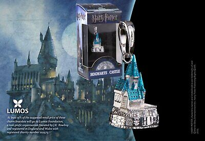 Harry Potter : HOGWARTS CASTLE SILVER LUMOS CHARM The Noble Collection NOB1033
