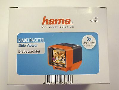 Hama 35mm slide viewer battery powered takes two AA's (not supplied)