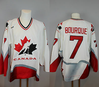 Team Canada Authentic Spielertrikot #7 Ray Bourque - Boston Bruins - IIHF - NHL