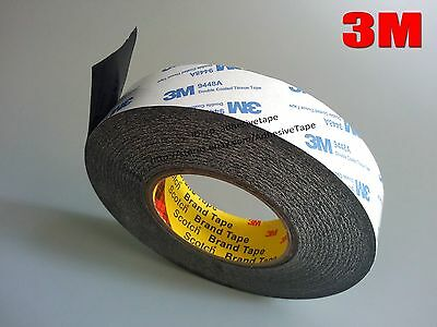 50M/R 3M 9448 Two Sides Adhesive Tape for phoneTablet Screen Glass Black/White