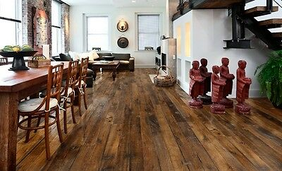 Kahrs Engineered Wood Flooring Supreme Oak Unico, Brushed, Smoked & Handscrafted