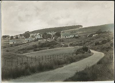 Fine 1933 postcard production photo: Tongue Village from Deanside, Sutherland