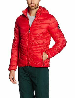 Geographical Norway Chaplin Hood Assort A, Vestes Homme, Rouge, Taille XL