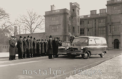 Photo Taken From A 1960's Image Of Police Training At Ensham Hall Oxford Shire