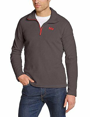 Helly Hansen Daybreaker Polaire 1/2 zip Homme Ebony FR : M (Taille Fabricant...