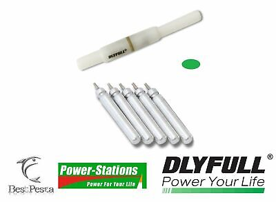 Power-Stations - STARLIGHT A LED - Ø4.5x50mm GREEN + 5 BATTERIE CR322