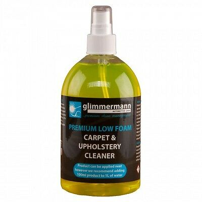 Car Carpet and Upholstery Valeting Cleaner Tough Stain Remover 300ml Glimmermann