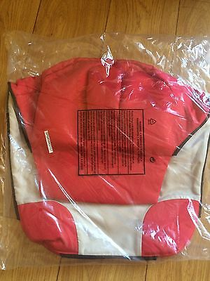 New Quinny Buzz Strawberry Red seat cover fabrics XL 18m 2nd second stage Insert