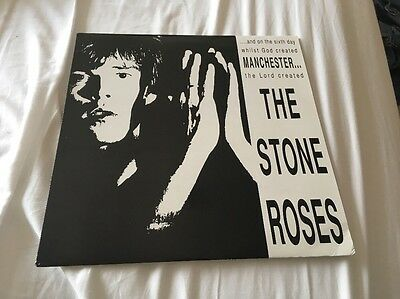 Stone Roses And On The Sixth Day Lp Mega Rare Unreleased
