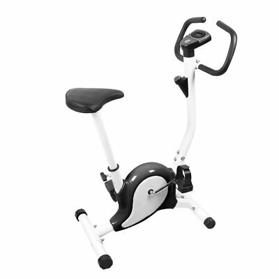 Aerobic Training Cycle Exercise Bike Cardio Workout Fitness Cycling Machine New