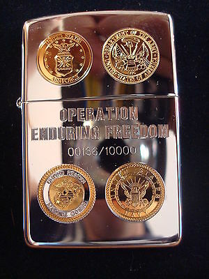 Zippo Operation Enduring Freedom *rar*selten*limited